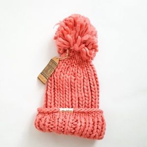 Three Birds Nest Pink Beanie